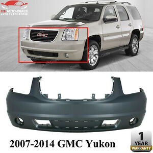 Frnt Bumper Cover Primed For 2007 2014 Gmc Yukon Yukon Xl 1500 Gm1000818