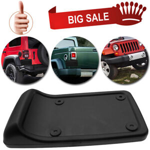 Tail Rear License Plate Mounting Bracket Holder For 1997 06 Jeep Wrangler Tj Usa