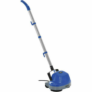 Mini Floor Scrubber W Floor Pads 11 Cleaning Path Electric Polisher Tile Wood