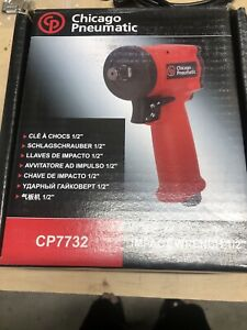 Chicago Pneumatic 7732 1 2 Drive Stubby Ultra Compact Impact Gun Wrench Cp7732