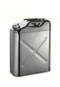 Tgt4x4 304 Stainless Steel Jerry Can 5 Gallon Water Can 20 L Portable