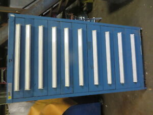 Tool Box Stanley Vidmar Drawer Cabinet 30 X 27 X 59 Used 600 800 Each