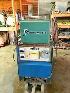 Miller Welder Cp 250ts Three Phase W Cobramatic Wire Feeder Euc