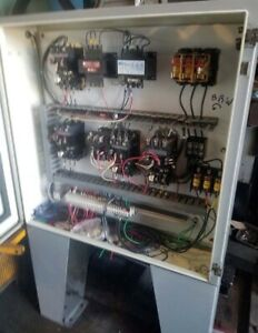 Used Electrical Control Cabinet With Allen Bradley inv 40977