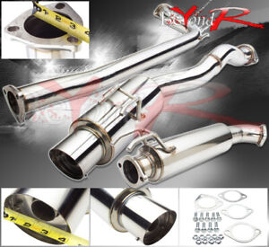 For 06 11 Honda Civic Si Sedan 2 5 N1 Style Performance Catback Exhaust System