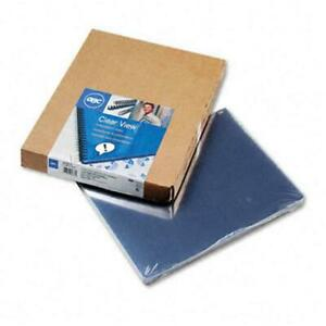 Clear View Presentation Binding System Cover 11 1 4 X 8 3 4 Clear 100 box