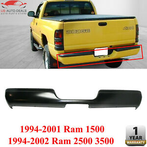 Step Bumper Primed Steel For 1994 2001 Dodge Ram 1500 94 2002 Ram 2500