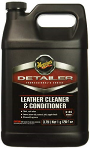 Meguiars D18001 Leather Cleaner Conditioner gallon