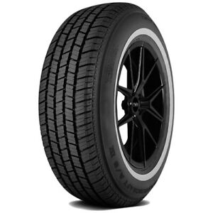 P205 75r15 Mastercraft A S Iv 97s White Wall Tire