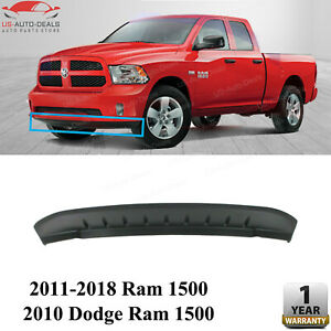 Front Bumper Lower Valance Textured For 2011 2018 Ram 1500 2010 Dodge Ram 1500