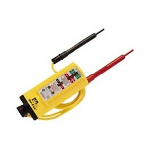 Ideal 61 076 Vol con Solenoid Voltage continuity Tester With Led Lamp Indicator