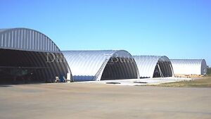 Durospan Steel 60 x65 x20 Metal Arch Building Shop Made To Order Factory Direct