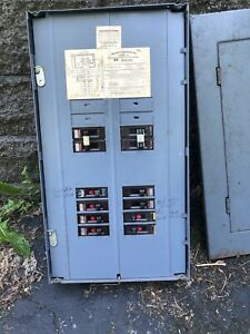 Wadsworth 125 Amp Main Wire Electric Breaker Box Panel