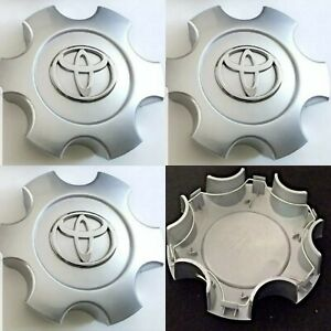Toyota Tundra 2003 2004 2005 2006 Wheel Center Hub Caps Silver 560 69440 4pcs