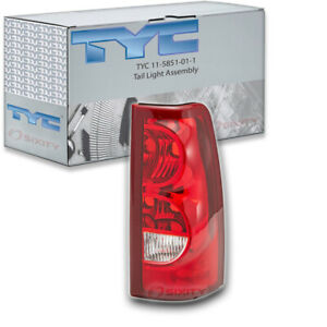Tyc 11 5851 01 1 Tail Light Assembly For General Motors 19169003 Dk