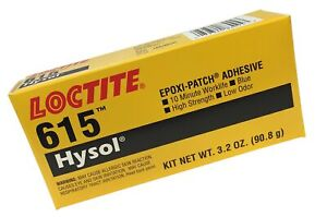 Loctite 398458 Blue Hysol 615 Two part Epoxy Adhesive Base And Accelerator