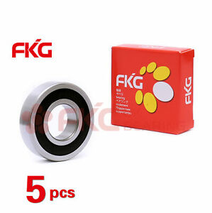 5pcs 6308 2rs Premium Rubber Sealed Deep Groove Ball Bearing 40x90x23 6308 2rs