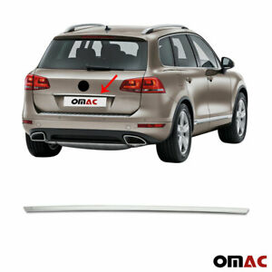 Chrome Trunk Tailgate Grab Handle Trim Cover Stainless For Vw Touareg 2011 2018