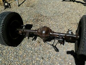 97 06 Jeep Wrangler Dana 44 Rear Axle Assembly W 3 73 Gears Local Pickup Only