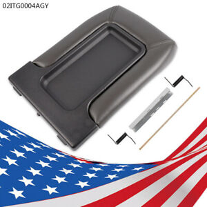 Center Console Cover Fit For 99 07 Chevy Silverado Lid Arm Rest Latch Repair Kit