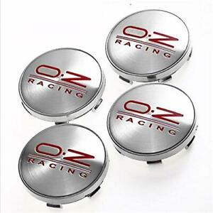 4pcs 60mm Car Wheel Center Hub Caps Emblem Badge Rim Cap For Oz Racing