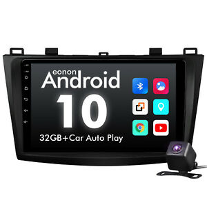 Cam For Mazda 3 10 13 Car Gps Navigation Radio Stereo 9 Android 10 Touch Screen