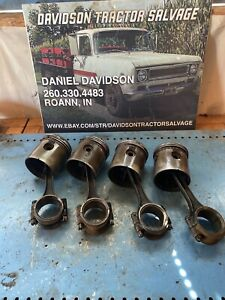 Allis Chalmers Wc Pistons Antique Tractor