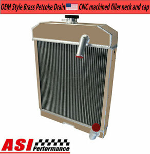 For Ford New Holland Nca8005 501 600 601 700 701 800 801 901 Tractor Radiator