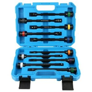 10pcs 1 2 Drive Torque Limiting Extension Bar Set Torque Stick Torque Bar Set