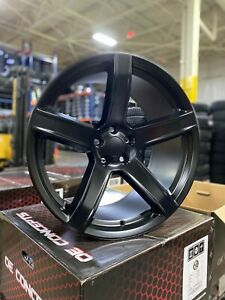 4 New 2018 Dodge Srt Hellcat 20 Satin Black Wheels Oe 20x9 5 Charger Challenger