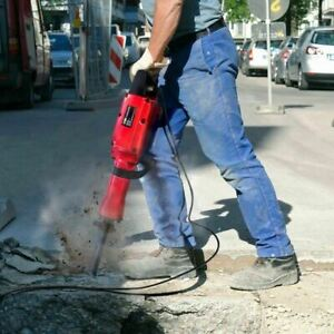 Lightweight 30lb Electric Concrete Breaker Demo Jack Hammer Breaker