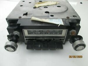 Gm Ac Delco Corvette 1978 1979 1980 Am Fm Radio 8 Track Stereo Original Oem