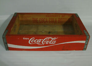1978 Coca Cola Wooden Crate Woodstock Charleston South Carolina