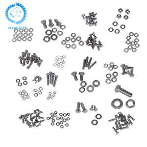 Sbc 265 283 305 327 350 400 Stainless Engine Hex Bolt Kit Set Fit For Chevy