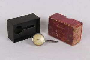 Starrett Dial Test Indicator 196b With Box Back Plunger Good Condition