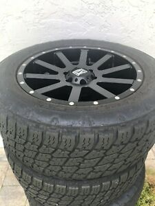 Xd Series Rims And Tires 22 Inch