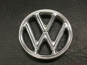 Vw Aircooled Beetle Front Hood Emblem New 60 61 Only