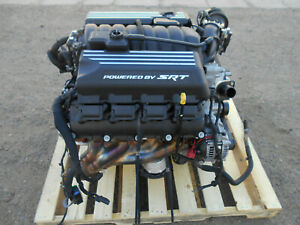 Hemi 6 4l 392 485hp Takeout Engine 3 074 Miles 2019 19 Charger Challenger 6287