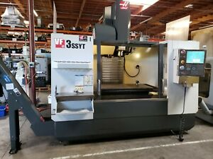 Haas Vf 3ssyt With Thru Spindle Coolant 5th Ready Probing 36k Options