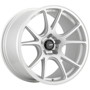 4 Konig 100s Freeform 19x8 5 5x112 32mm Silver Wheels Rims 19 Inch
