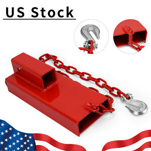2 Forklift Hitch Receiver Trailer Hitch Receiver Towing Adapter Ball Mount
