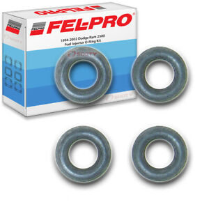 Fel Pro Fuel Injector O Ring Kit For 1994 2002 Dodge Ram 2500 Felpro Mz