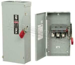 Thn2261dc Disconnect 30a 600v Switch 2pole Spec setter Thn Switch General