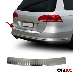 Rear Bumper Guard Trunk Sill Protector Brushed For Vw Passat B7 2010 2015