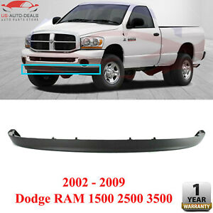 Front Lower Valance Air Deflector For 2002 2009 Dodge Ram 3500 2500 1500