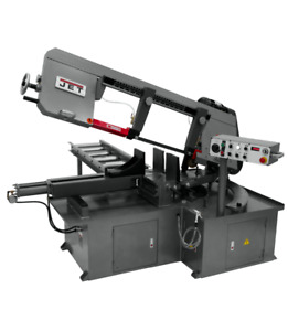Jet 13 Semi automatic Dual Mitering Bandsaw 413412 3hp 230v 3 ph