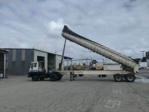 1984 Fruehauf Two Axle Self Contained And Framed End Dump Trailer