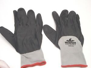 Mcr Safety 96781xxl 3 4 Nitrile Coated Work Gloves Xx large Lot Of 2 Pairs