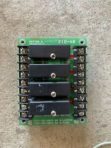 Potter Brunfield 2i0 4b Solid State Relay Board