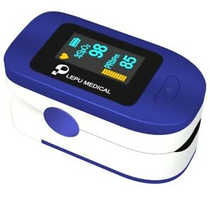 Pulse Oximeter Oxygen Saturation Monitor With Plethysmograph And Perfusion